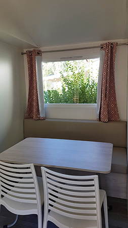 Mobil-home Merida 2 chambres - 4 couchages